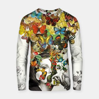 Thumbnail image of Butterfly Woman Cotton sweater, Live Heroes