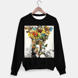 Thumbnail image of Butterfly Woman Sweater regular, Live Heroes