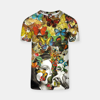 Thumbnail image of Butterfly Woman T-shirt, Live Heroes