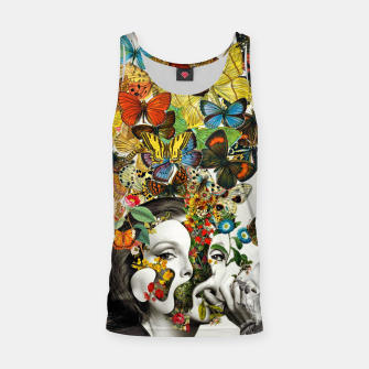 Thumbnail image of Butterfly Woman Tank Top, Live Heroes