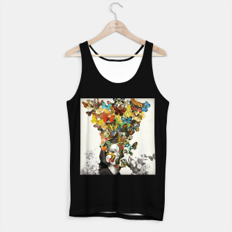 Thumbnail image of Butterfly Woman Tank Top regular, Live Heroes