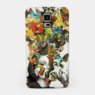 Thumbnail image of Butterfly Woman Samsung Case, Live Heroes