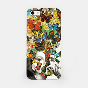 Thumbnail image of Butterfly Woman iPhone Case, Live Heroes