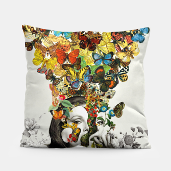 Thumbnail image of Butterfly Woman Pillow, Live Heroes