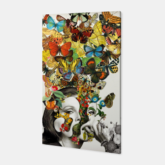 Thumbnail image of Butterfly Woman Canvas, Live Heroes