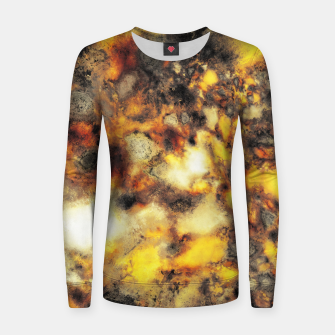 Thumbnail image of Embers Woman cotton sweater, Live Heroes
