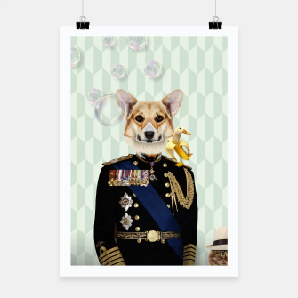 Thumbnail image of Dog Royal Poster, Live Heroes