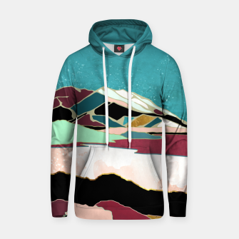 Thumbnail image of Teal Sky Cotton hoodie, Live Heroes