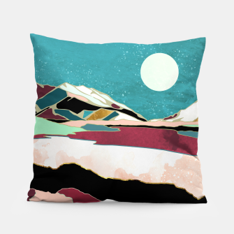 Thumbnail image of Teal Sky Pillow, Live Heroes