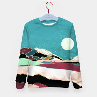 Thumbnail image of Teal Sky Kid's sweater, Live Heroes