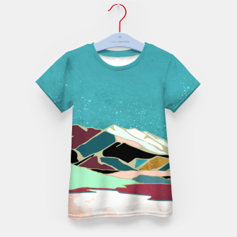 Thumbnail image of Teal Sky Kid's t-shirt, Live Heroes