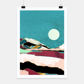 Miniatur Teal Sky Poster, Live Heroes