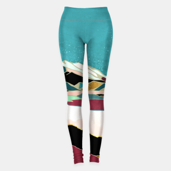 Thumbnail image of Teal Sky Leggings, Live Heroes