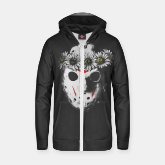 Thumbnail image of FRIDAY I'M IN LOVE Cotton zip up hoodie, Live Heroes