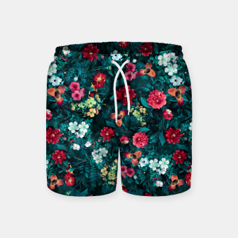 Thumbnail image of The Midnight Garden II Swim Shorts, Live Heroes