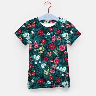 The Midnight Garden II Kid's t-shirt Bild der Miniatur