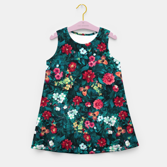 The Midnight Garden II Girl's summer dress Bild der Miniatur