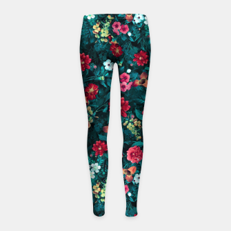 The Midnight Garden II Girl's leggings thumbnail image