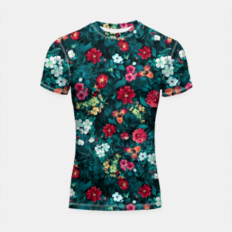 Thumbnail image of The Midnight Garden II Shortsleeve rashguard, Live Heroes