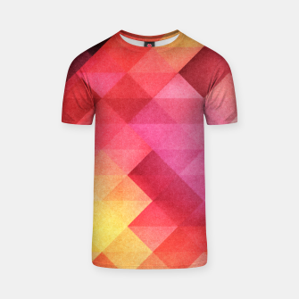 Thumbnail image of Fall pattern T-shirt, Live Heroes