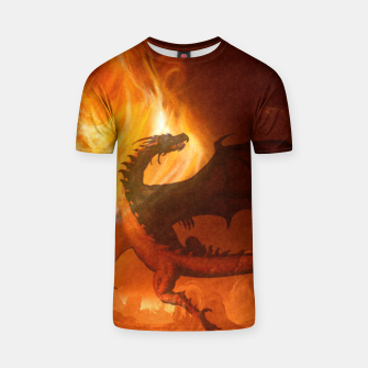 Thumbnail image of Dragon's world T-shirt, Live Heroes