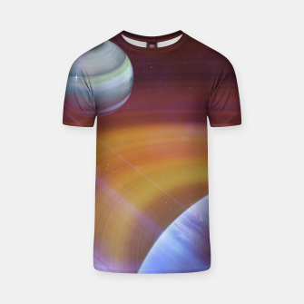Thumbnail image of Outer space T-shirt, Live Heroes