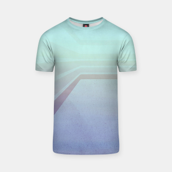 Thumbnail image of Horizontal flight (Blue edition)  T-shirt, Live Heroes