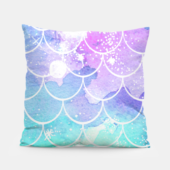Imagen en miniatura de Galaxy Mermaid Tail Print Pillow, Live Heroes