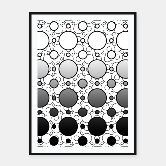 Thumbnail image of Circle Doodles Framed poster, Live Heroes