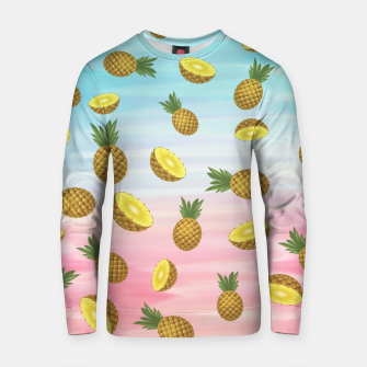 Miniatur Cute pineapples Cotton sweater, Live Heroes