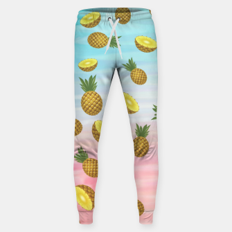 Miniatur Cute pineapples Cotton sweatpants, Live Heroes