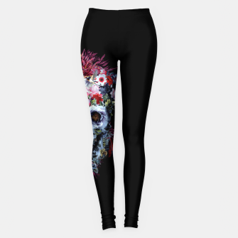 Thumbnail image of SKULL VOODOO DARK Leggings, Live Heroes