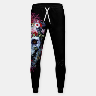 Thumbnail image of SKULL VOODOO DARK Cotton sweatpants, Live Heroes