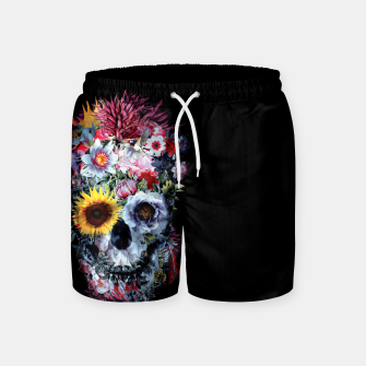Thumbnail image of SKULL VOODOO DARK Swim Shorts, Live Heroes