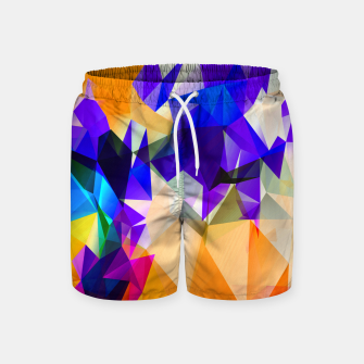 Thumbnail image of geometrical art  Swim Shorts, Live Heroes