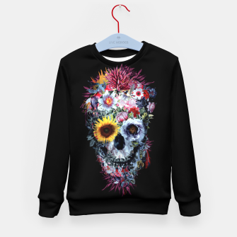 Thumbnail image of SKULL VOODOO DARK Kid's sweater, Live Heroes