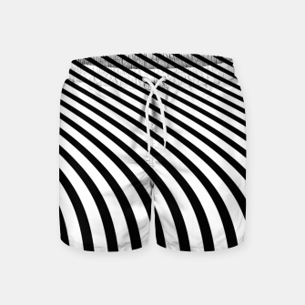 Thumbnail image of Dancing lines Swim Shorts, Live Heroes