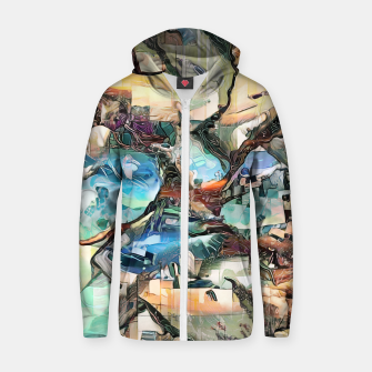 Miniature de image de Desert Haze Cotton zip up hoodie, Live Heroes
