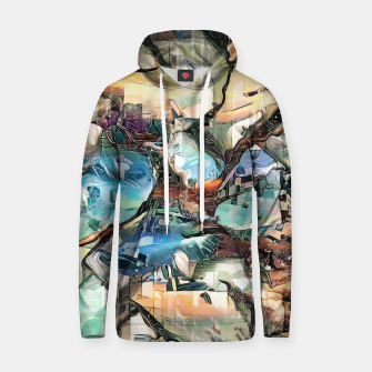 Thumbnail image of Desert Haze Cotton hoodie, Live Heroes