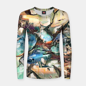 Thumbnail image of Desert Haze Woman cotton sweater, Live Heroes