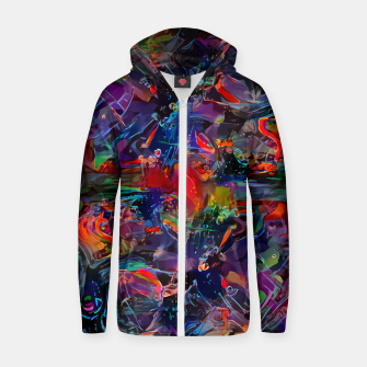 Thumbnail image of Youngblood Cotton zip up hoodie, Live Heroes