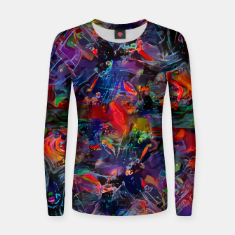 Thumbnail image of Youngblood Woman cotton sweater, Live Heroes