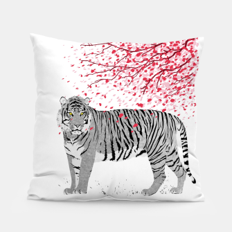 Thumbnail image of Cherry tree Tiger  Almohada, Live Heroes