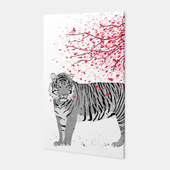 Thumbnail image of Cherry tree Tiger  Canvas, Live Heroes