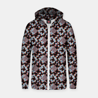 Thumbnail image of Crypton Pattern Cotton zip up hoodie, Live Heroes