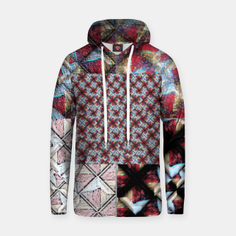 Thumbnail image of 5 square  Cotton hoodie, Live Heroes