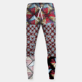 Thumbnail image of 5 square  Cotton sweatpants, Live Heroes