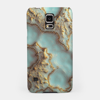 Thumbnail image of Aqua Coral Reef Abstract Samsung Case, Live Heroes