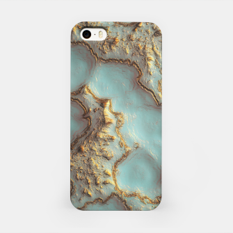 Thumbnail image of Aqua Coral Reef Abstract iPhone Case, Live Heroes