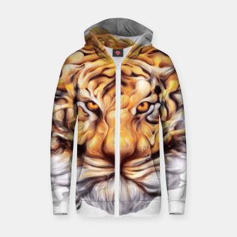 Miniaturka Ink Tiger Cotton zip up hoodie, Live Heroes